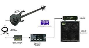 bass amp eq for beginners bass guitar rig diagram showing the full signal path