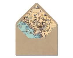 Map Envelope Liner Etsy