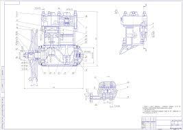 Курсовые и дипломные работы автомобили расчет устройство  Чертеж Компрессор Зил 130