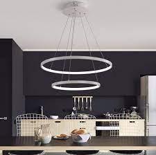 modern circular ring pendant lights 3 2
