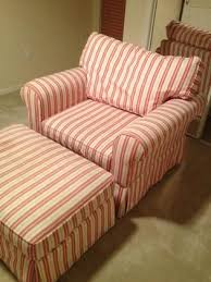 overstuffed sofas and chairs. overstuffed chairs and ottomans with stripes   haverty s quality chair ottoman red sofas