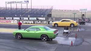 2012 Dodge Challenger SRT8 392 vs 2006 Charger Daytona RT - YouTube