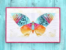 5 Quilted Wall Hanging Patterns for the Home & paper pieced butterfly pattern Adamdwight.com