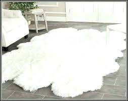 how to clean sheepskin rug sheepskin rug best faux fur rug for how to clean a