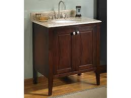 century 30 inch vanity with top door bathroom furniture cherry wood antique white freestanding glass mid