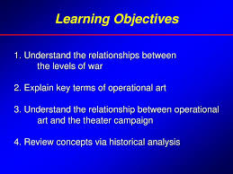 Operational Art And Design Ppt Joint Forces Staff College National Defense University Ppt