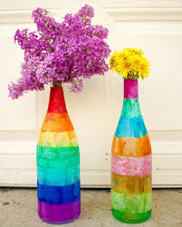Decorated Plastic Bottles 60 Outstanding Craft Projects Using Glass Jars FeltMagnet 17