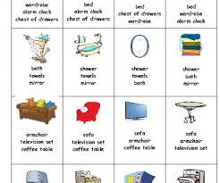kitchen furniture names. Furniture Card Game (Happy Families) Kitchen Names G