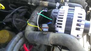 cherokee ad high amp alternator install