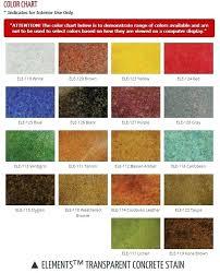 Quikrete Concrete Stain Colors Chart Transparent Concrete Stain Colors Rustoleum Semi Transparent