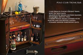 bar trunk furniture. Polo Club Trunk Bar Is Big Enough For Pur-sang Bartending But Small To Furniture