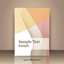 front cover templates abstract cover template vector free