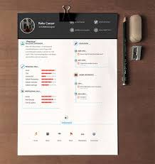 free cv template download with photo 20 free editable cv resume templates for ps ai