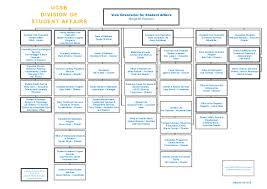 Student Life Org Chart Student Affairs Organizational Chart