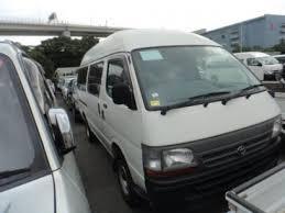 Japanese Used TOYOTA HIACE VAN HIGH ROOF LONG?DIESEL MANUAL?2WD ...