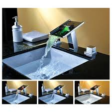 bathroom vessel sinks and faucets. bathroom sink faucet classic design waterfall square glass kitchen vanity vessel sinks and faucets s