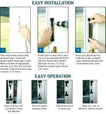 patio security bar sliding glass door bars patio door security door security bar sliding shower door