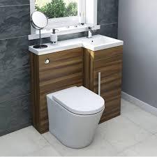 Sink And Toilet Combo Myspace Walnut Combination Unit Rh With Arc Btw Victoria Plumb