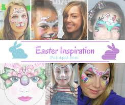 a blog with lots of easter design ideas updated by heather green face painting