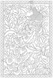 Peacock Pictures Coloring Pages Freesubmitdirinfo