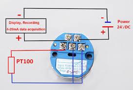 rtd pt100 3 wire wiring diagram wirdig rtd pt100 to 4 20ma converter module rtd