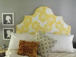 Headboard Alternative Ideas Plush Headboard Is An Attractive Alternative Home Improvement 2017