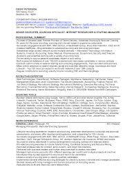 28 Sample Recruiter Resume Agency Recruiter Resume Resume Prep