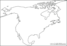 Outline Map Picture Blank Of Latin America To Label Createalist Info