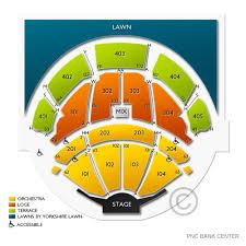 Pnc Bank Arts Center Lawn Seating Chart Pnc Bank Arts Center 2019 Seating Chart