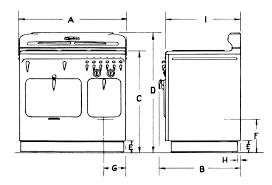 standard stove width. Modren Width For Standard Stove Width O