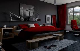 black and red bedroom. Maroon And Grey Bedroom Black Red I
