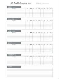 Exercise Journal Template Printable Food And Workout Log Gemalog