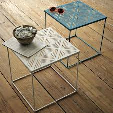 small patio side table outdoor end table plans free woodworking coffee patio side table metal new