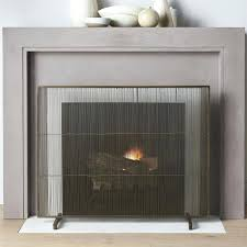 modern fireplace screen this tips contemporary glass doors tools design screens toronto