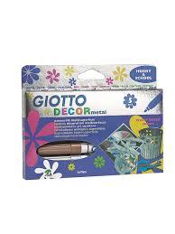 <b>GIOTTO DECOR</b> METAL 5 цв. <b>Фломастеры</b> для декорирования ...