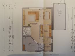 Schmale zweizeilige Küche im Neubau (<10qm)
