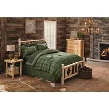 CASTLECREEK Cedar Log Bed, Queen - 235869, Bedroom Furniture at ...