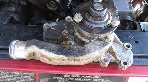 replace water pump land rover discovery replace water pump land rover discovery