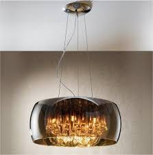 crystal droplet pendant light glass shades