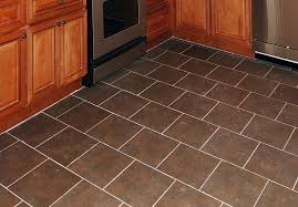 ... Tiles, Ceramic Tile Flooring Ideas Ceramic Floor Design Ideas Kitchen  Refrigerator Model Cabinet Oven: ...