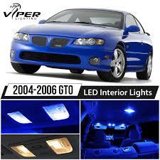 Gto Fog Lights Details About 2004 2006 Pontiac Gto Blue Led Lights Interior Package Kit