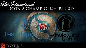 team liquid vs invictus gaming dota 2 international championships