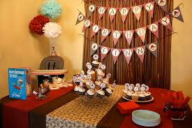 Sock Monkey Themed First Birthday Party Ideas & Decorations