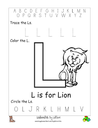 Worksheet Letter L Worksheets For Preschool Grass Fedjp