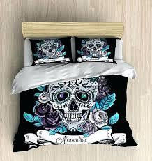 sugar skull bedding skull bedding personalized sugar skull bedding by sugar skull bedding queen sugar skull bedding