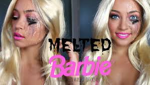 melted barbie tutorial