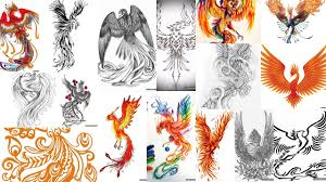 татуировки феникса фото
