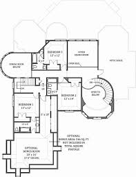 european house plan with 4 bedrooms and 4 5 baths plan 7805 New Home Floor Plans With Cost To Build 2nd floor plan home floor plans with cost to build