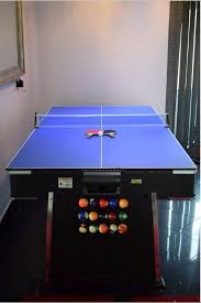 mightymast revolver 3 in 1 pool air hockey table tennis table