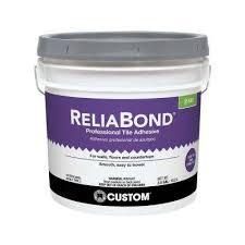 reliabond 3 5 gal ceramic tile adhesive